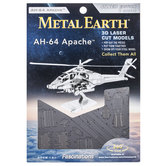 AH-64 Apache Metal Earth 3D Model Kit